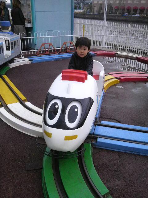 新幹線の遊具