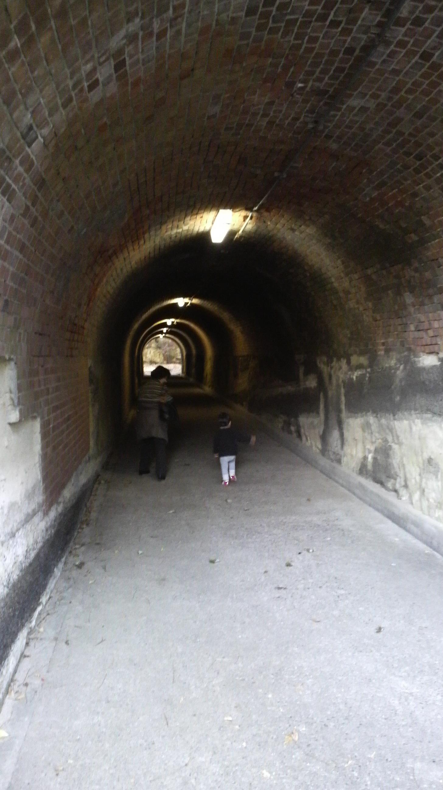 観音崎のトンネル