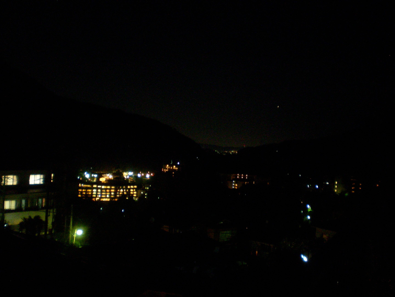 2013年末箱根夜景